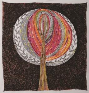 「蕾を抱く木」